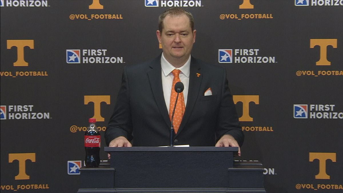 An Aberdeen native will be at the helm of the University of Tennessee's football program. And...