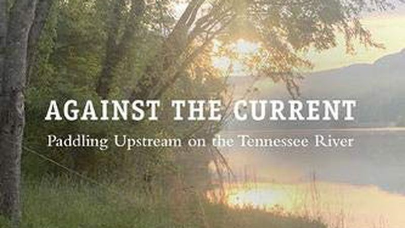 Paddling upstream on the Tennessee River