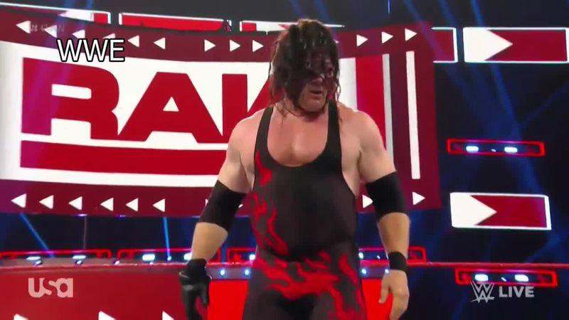 Mayor Glenn Jacobs returned to the ring as Kane at Thompson-Boling Area. / Source: (USA/ WWE)