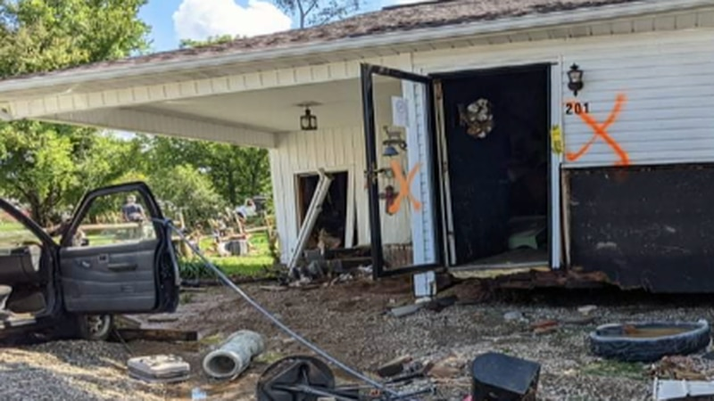 Waverly home destroyed in the flood