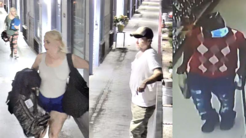 Anyone who recognizes any of the suspects is urged to contact East Tennessee Valley Crime...