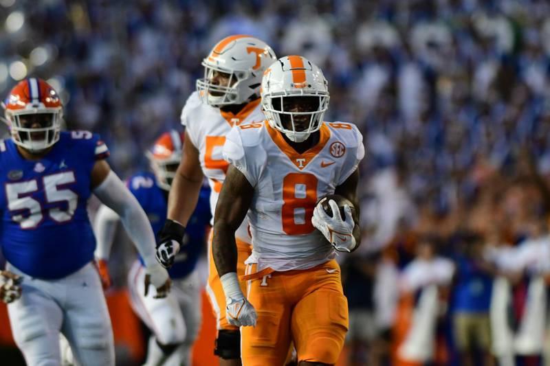 Scores a TD at Florida