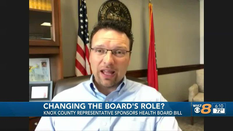 Knox County representative sponsors health board bill.