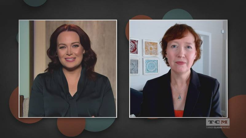 Lea McMahan guest co-hosted with Alicia Malone on Turner Classic Movies