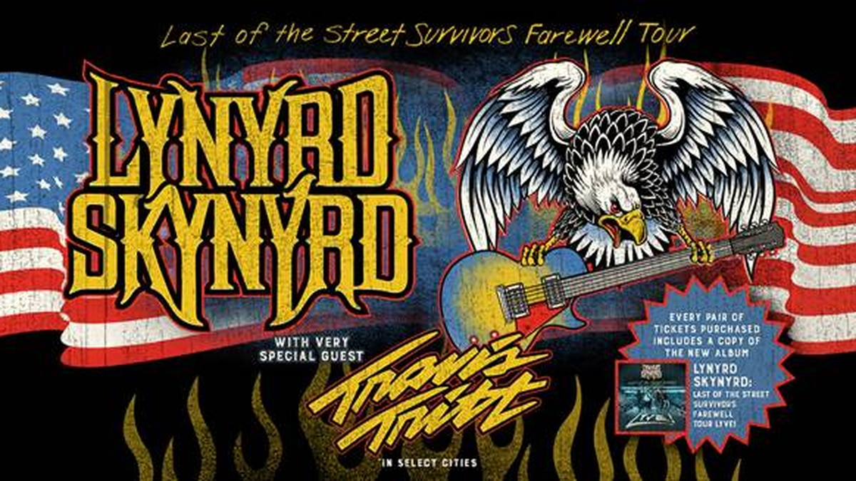 Lynyrd Skynyrd is coming to Knoxville