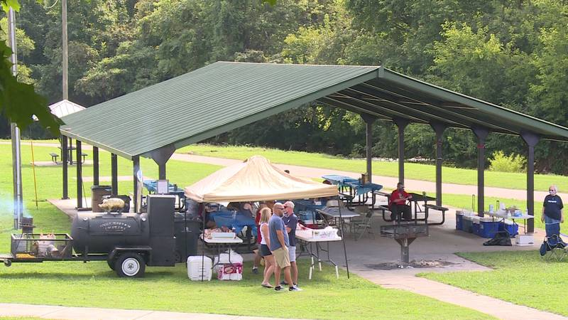 Knoxville area Labor Day Picnic at Tyson Park