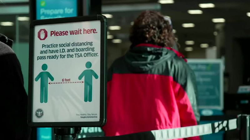 Health officials fear Thanksgiving travel could result in another major spike in Covid-19 cases...