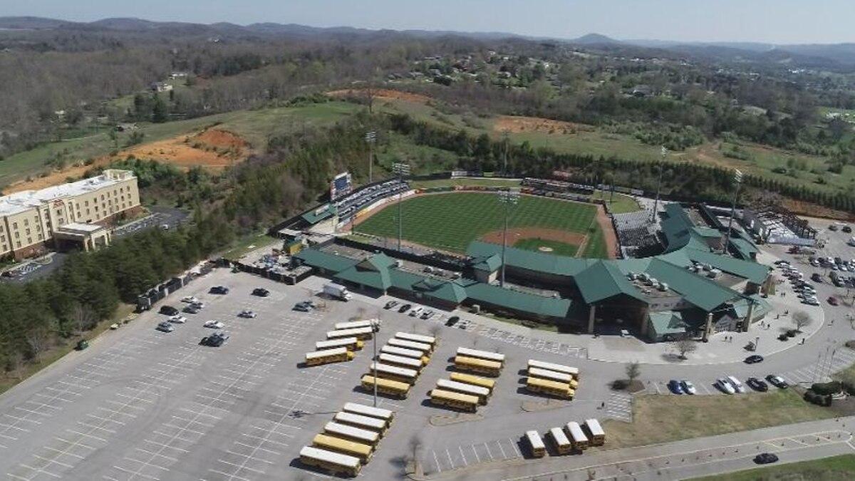 Smokies Stadium . / Source: WVLT News