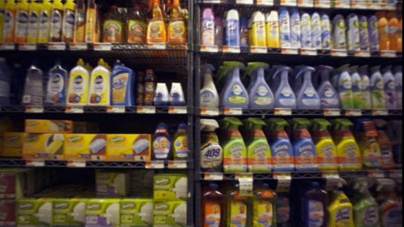 CDC survey: 39% of Americans admit misusing cleaning products to fight coronavirus