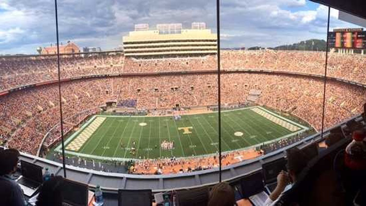 Similar to the program offered to fans during men's and women's basketball season, Tennessee football is now offering fans the Vol Pass./ Source: WVLT