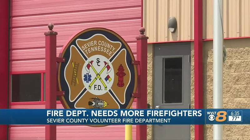 Sevier County Fire asking for more people to join  as volunteer fire fighters