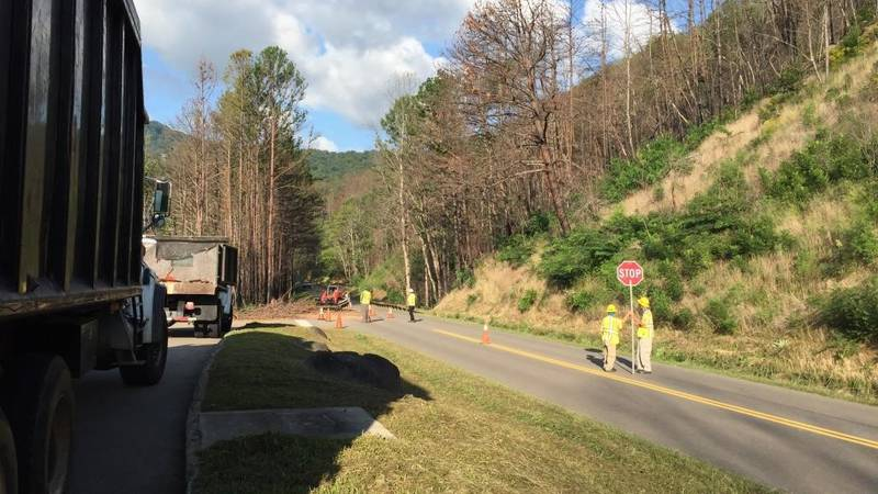 The Great Smoky Mountains National Park announced lane closures for the Spur beginning next week.