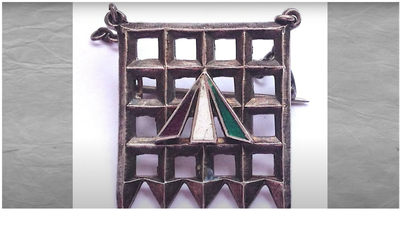 Jewelry was an important part of showing support during the Suffrage movement.