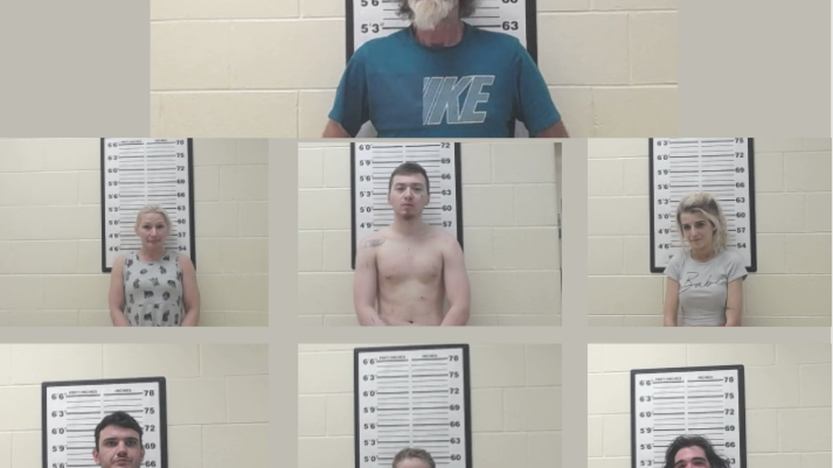 7 arrested in Fentress County