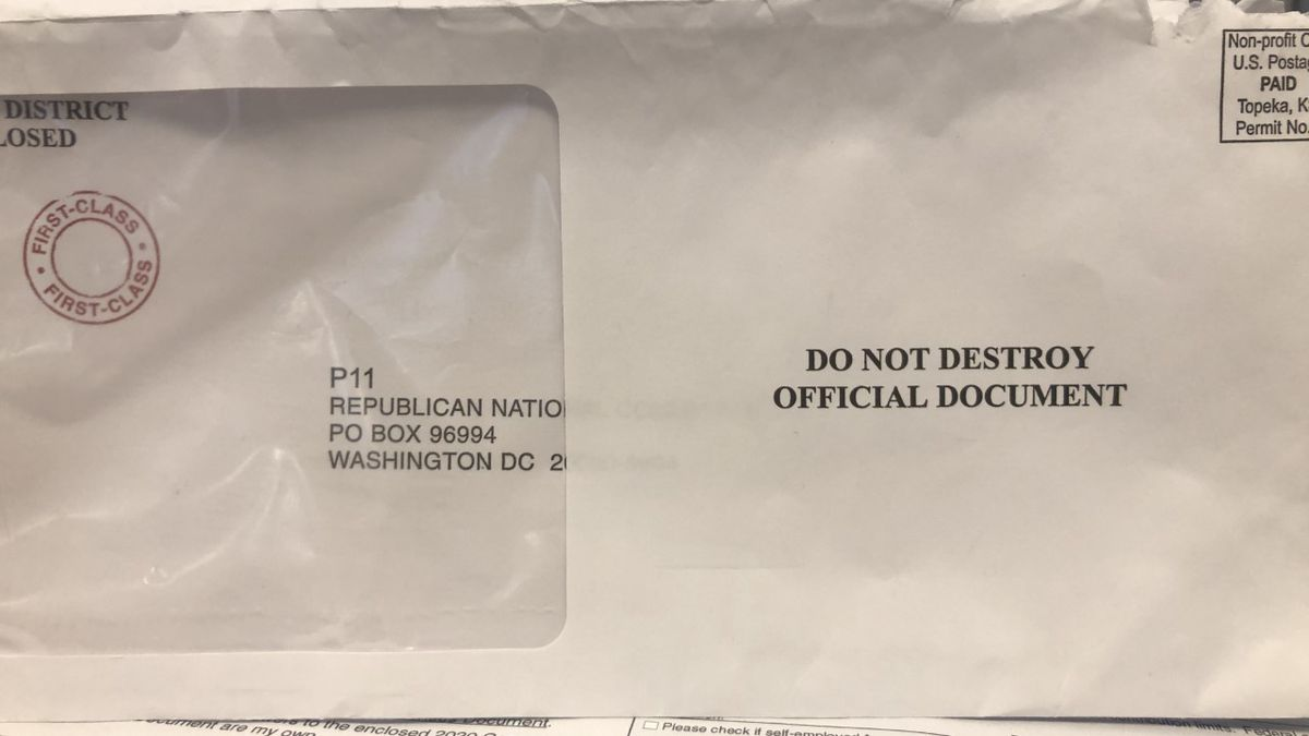 The U.S. Government will send out 2020 Census mailers on March 12. / Source: WVLT News