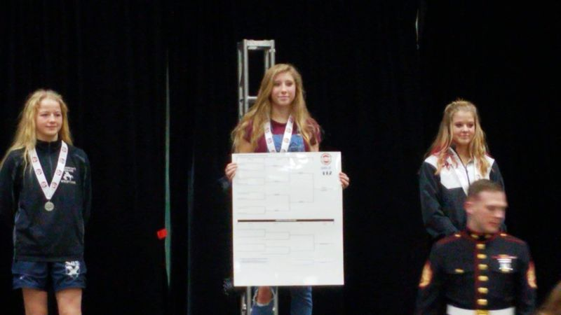 State wrestling champion from Heritage High School