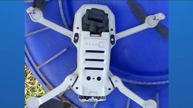 Man arrested after drug-smuggling drone found at jail