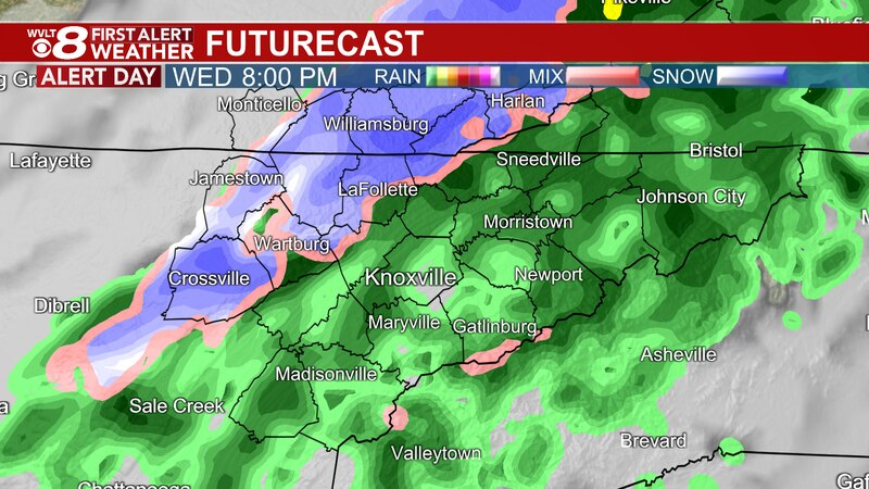 Flooding risk ahead of a cold front, bringing a cold blast for tomorrow.