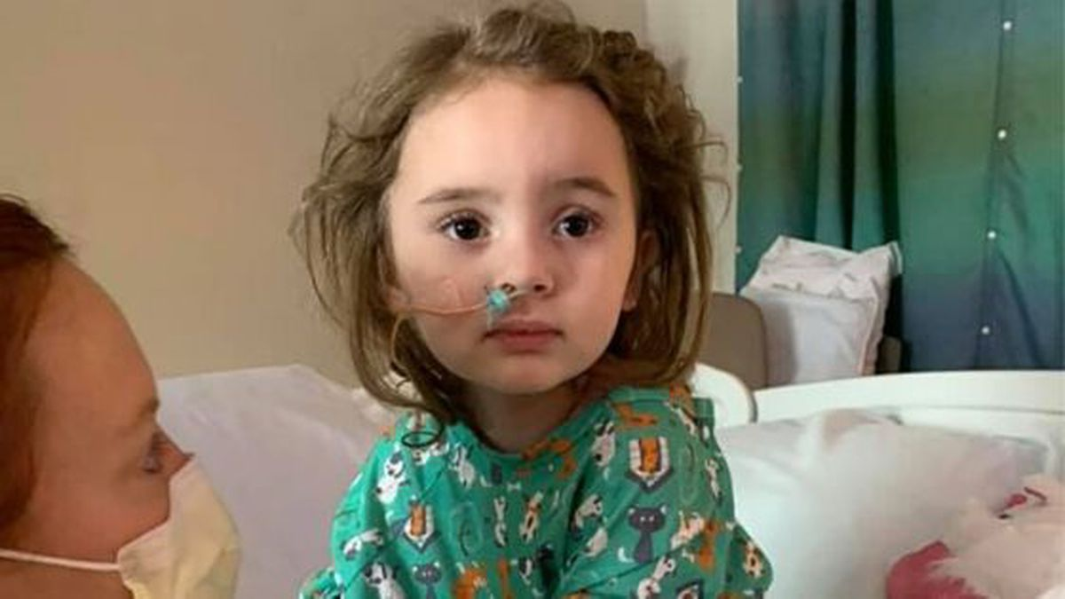 Jade DeLucia caught the flu a few days before Christmas and spent two weeks in ICU. / (CNN)