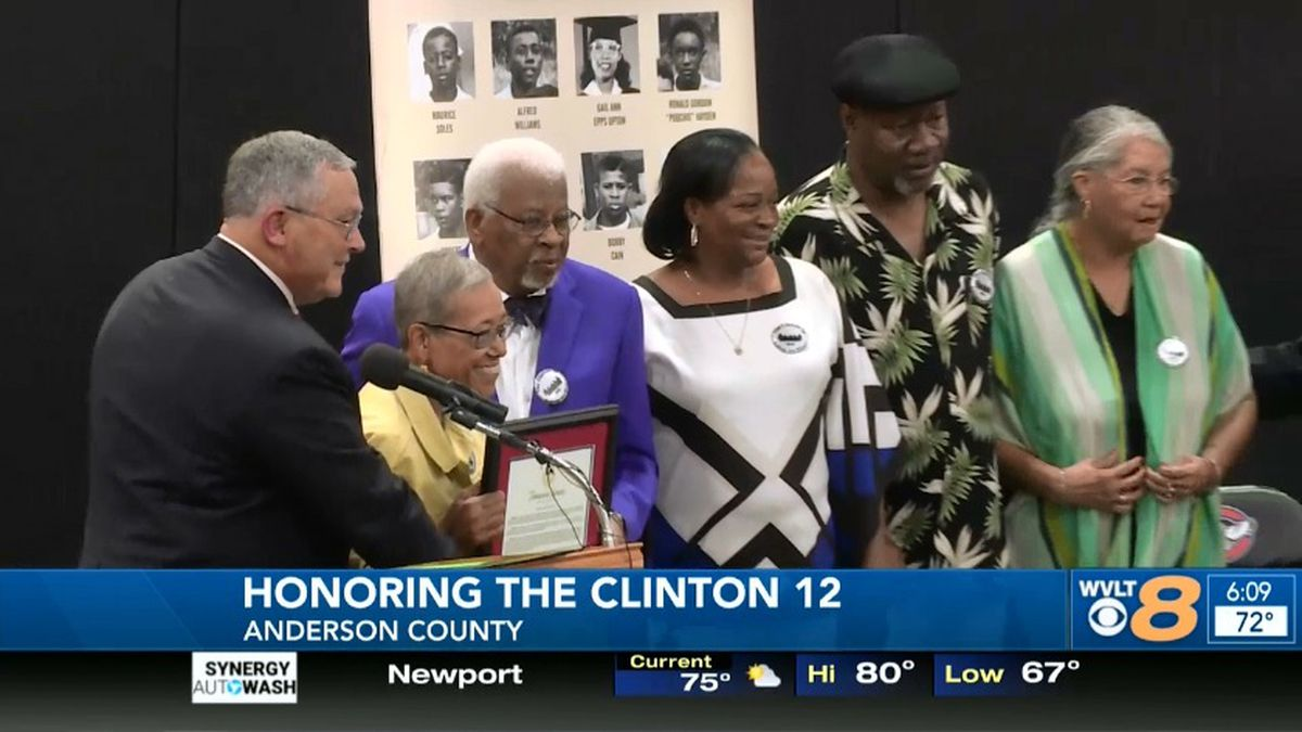 Clinton High School, now Clinton Middle, became the first desegregated public high school in...