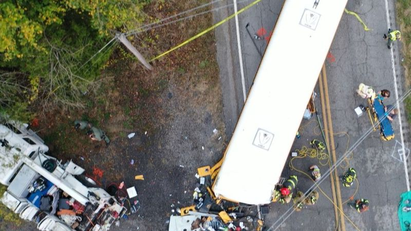 The National Transportation Safety Board released a report on a deadly bus crash that occurred...