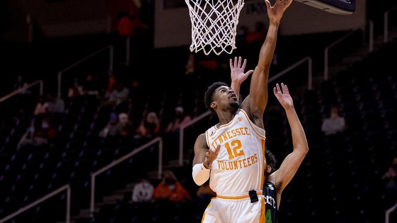 Vols guard goes in for layup against USC Upstate