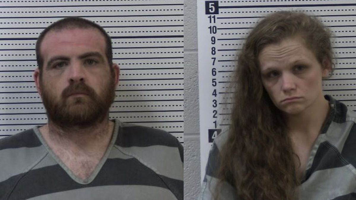 Greene County sheriff's deputies arrested 30-year-old Cody Tyler Baker and 26-year-old Alexis Leanna Murray of Beech Grove on three counts each of endangering the welfare of a minor-first degree. (Source: Greene Co. Sheriff's Office)