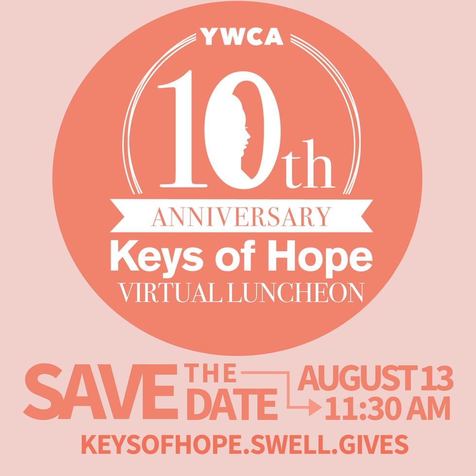 YWCA Keys of Hope luncheon has moved online this year.