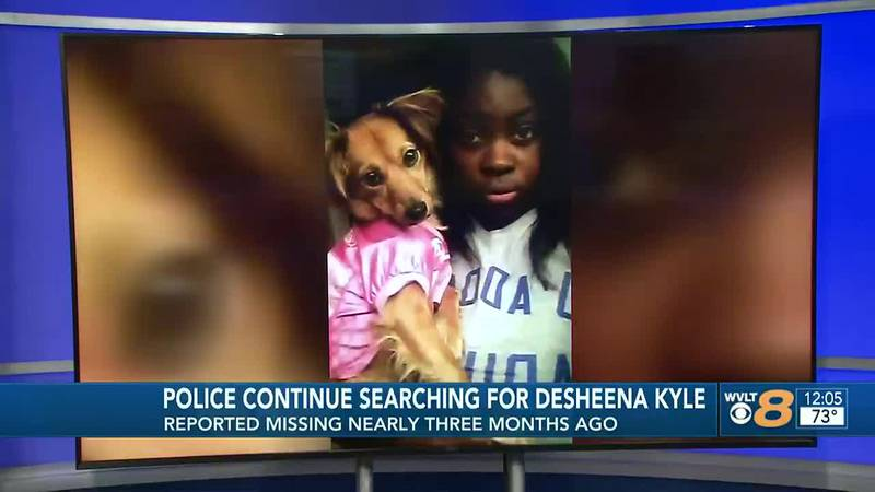Police are continuing the search for Desheena Kyle