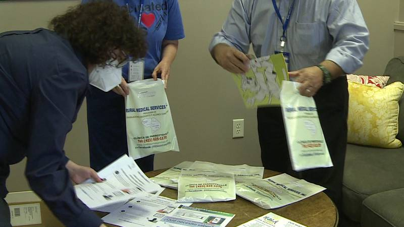 Community organizers in Morristown are sharing COVID-19 vaccine information throughout the...