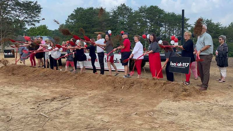 Isaiah 117 House breaks ground in McMinn County.