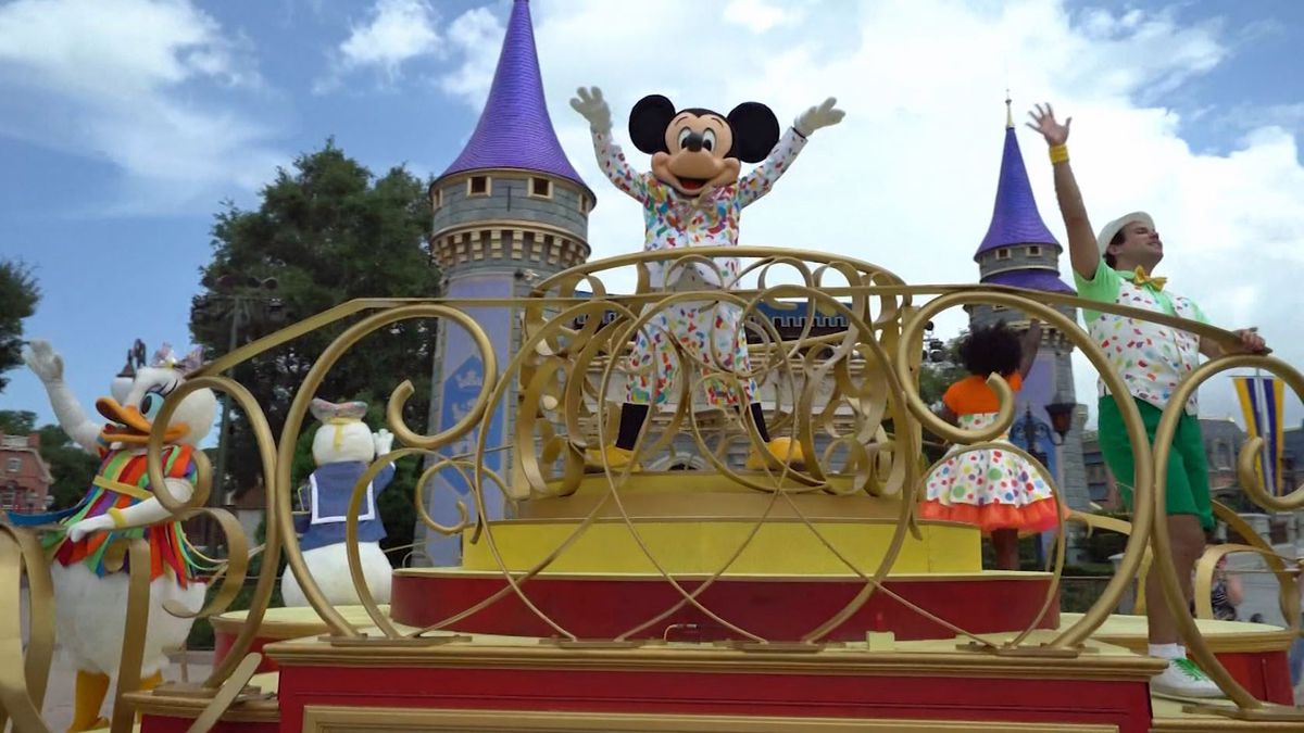 Disney CEO Bob Chapek hinted that there could be a change to the mandatory mask requirement at...