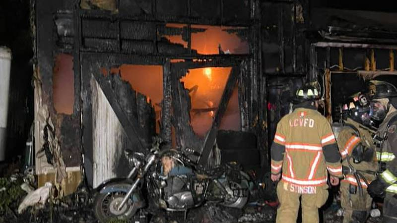 New Market Volunteer Fire Department was called to a house fire early Monday morning