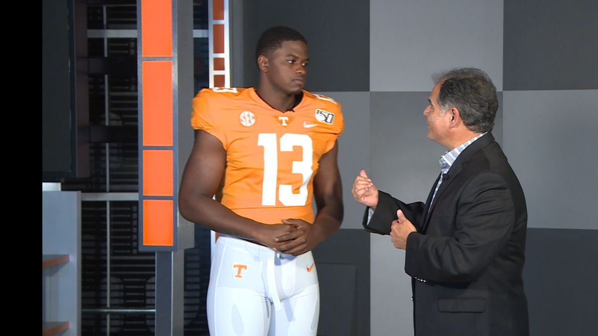 Deandre Johnson is helping the WVLT Sports team count down to Football Time in Tennessee. / Source: (WVLT)