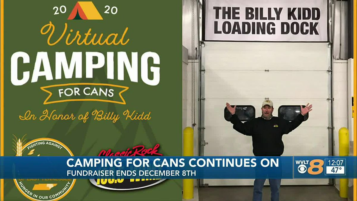 Camping for Cans
