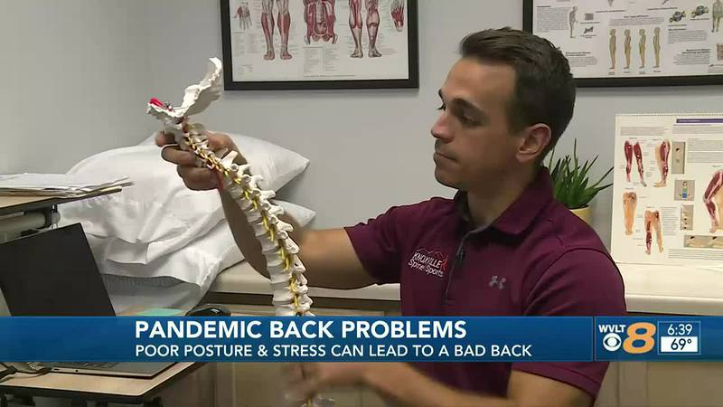 Dr. Matt Campbell with Knoxville Spine & Sports breaks down the causes of your work from home...