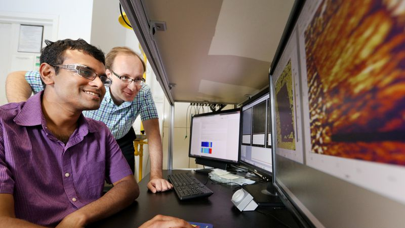 ORNL researchers use supercomputing to solve problems, push technology to new limits. Photo...