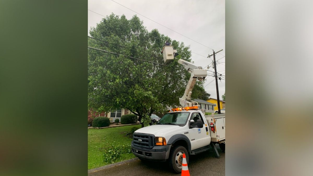 Monday evening more than 25,000 residents were without power.