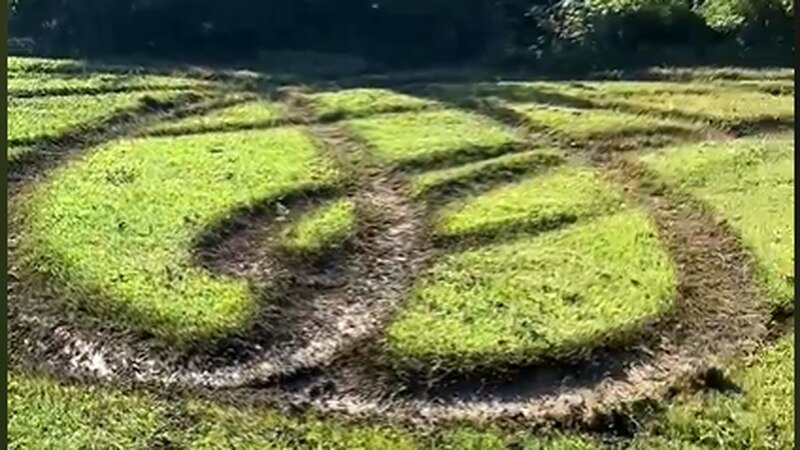 Deputies are looking for the people that damaged a North Knox greenway