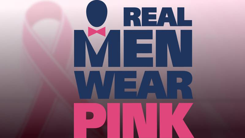 'Real Men Wear Pink' campaign kicks off during breast cancer awareness month