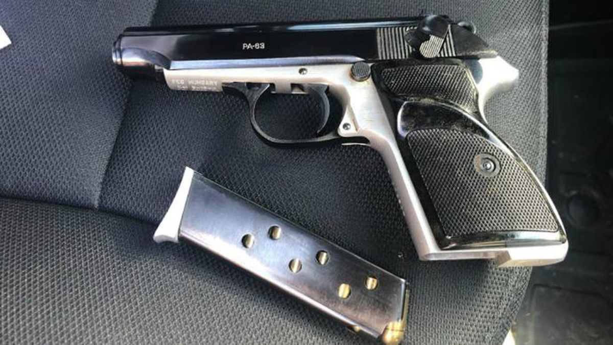 A student was found with a loaded gun at Great Crossing High School. / Source: (Georgetown Police Department)