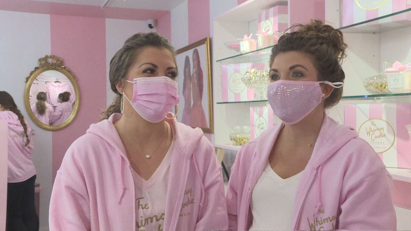 Sisters not letting the pandemic stop their dream of opening a cookie store in West Knoxville
