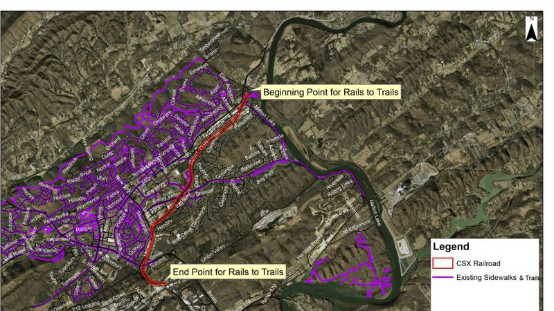 Oak Ridge proposes new project to turn abandoned railroad into greenway
