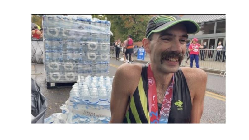 Ethan Coffey -  2021 Knoxville Marathon winner