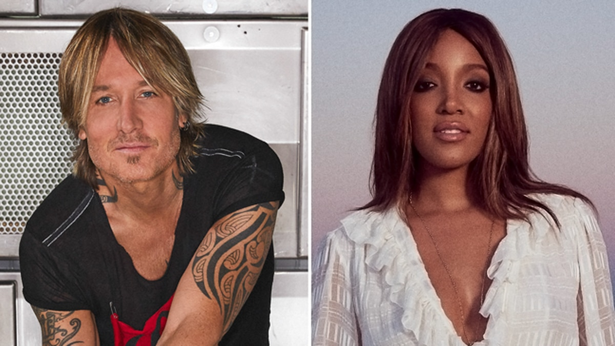 Keith Urban and Mickey Guyton will cohost the Academy of Country Music Awards in April.