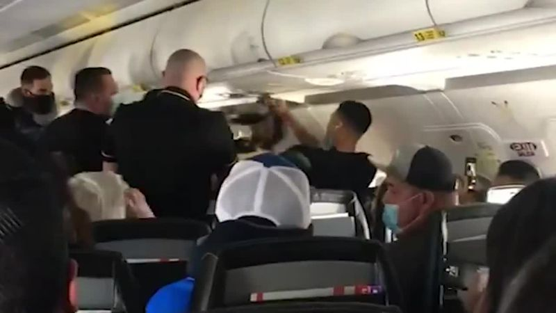 The FAA says it has received around 2,900 reports of unruly behavior by passengers so far this...