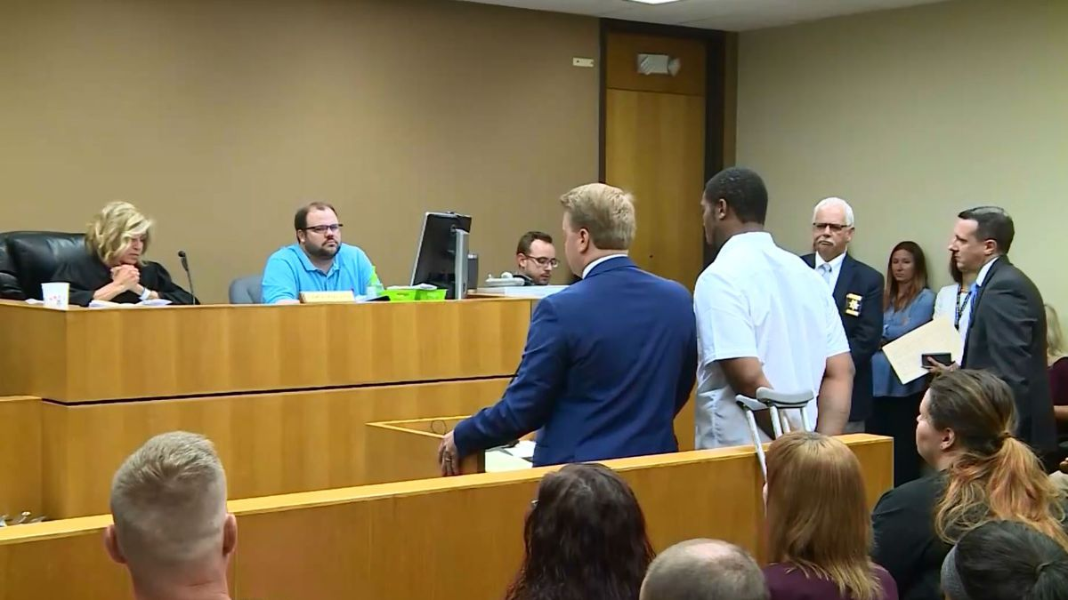 Dorrae Johnson is appearing in court after police reportedly found a human torso in his car during a traffic stop. (WVLT)