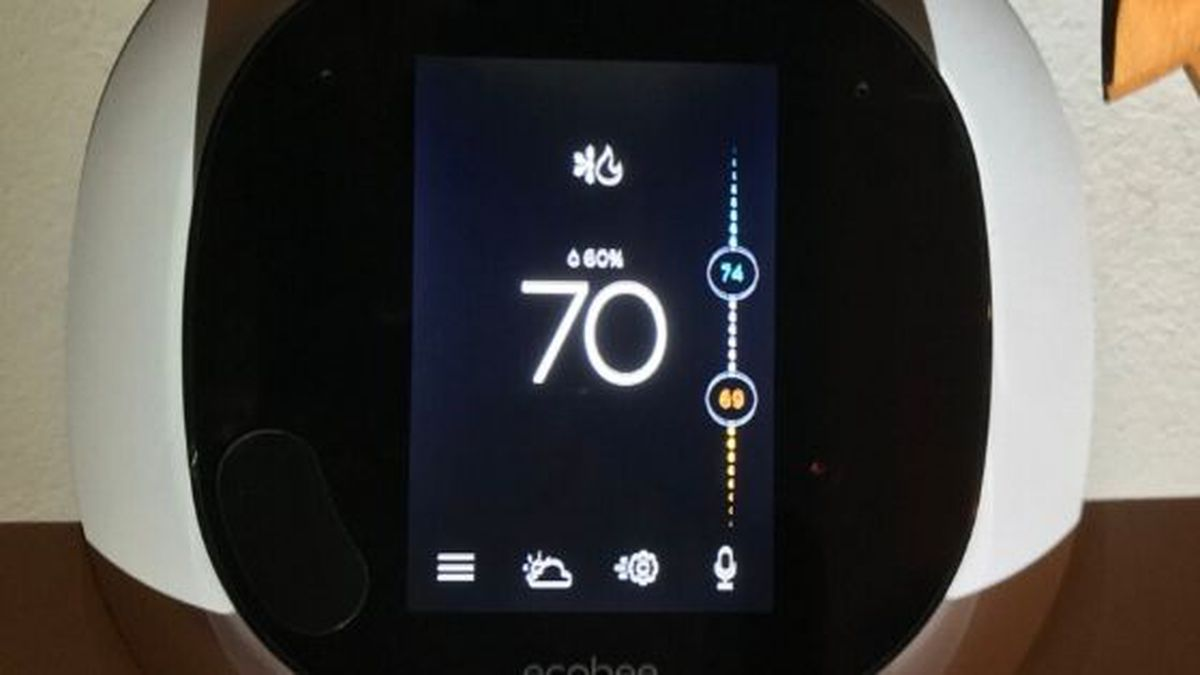 The thermostats allow you to customize your climate remotely and track in-home energy use. / (KUB)
