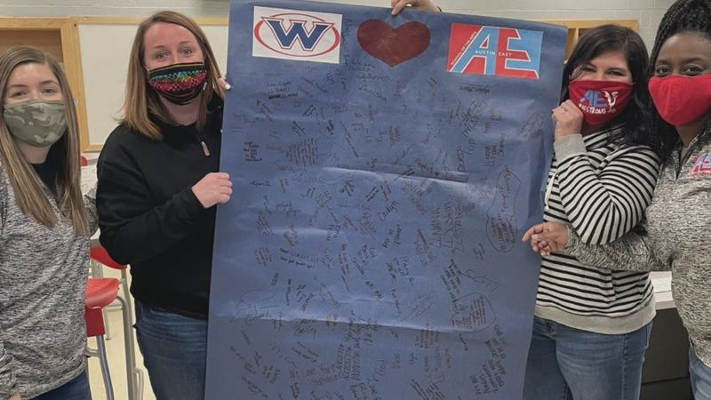 West High supports Austin East
