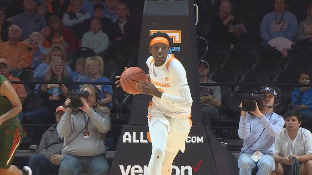 Rennia Davis was one of eight players chosen. / (UT Athletics)